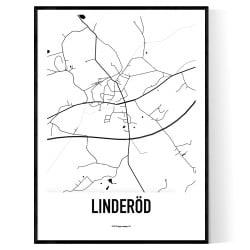 Linderöd Karta
