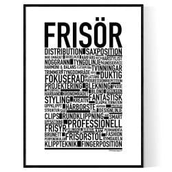 Frisör Poster