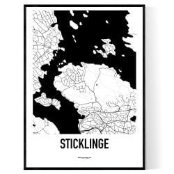 Sticklinge Karta