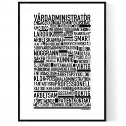 Vårdadministratör Poster