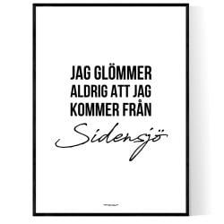 Från Sidensjö