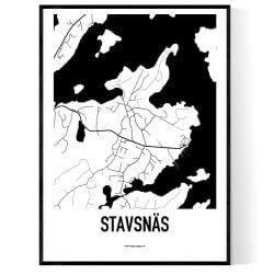Stavsnäs Karta