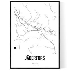Jäderfors Karta