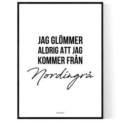 Från Nordingrå