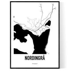 Nordingrå Karta