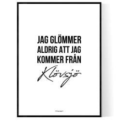 Från Klövsjö