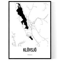 Klövsjö Karta