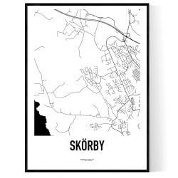 Skörby Karta