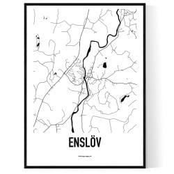 Enslöv Karta