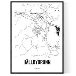 Hällbybrunn Karta