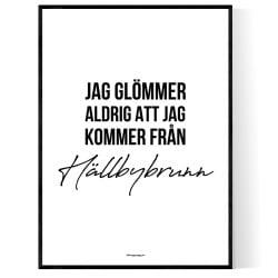 Från Hällbybrunn