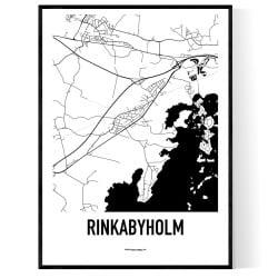 Rinkabyholm Karta