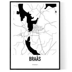 Braås Karta