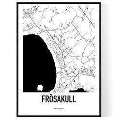 Frösakull Karta