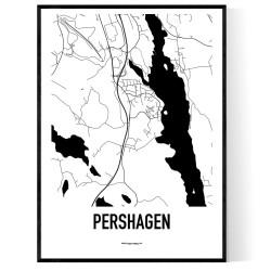 Pershagen Karta