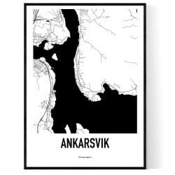 Ankarsvik Karta