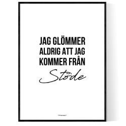 Från Stöde