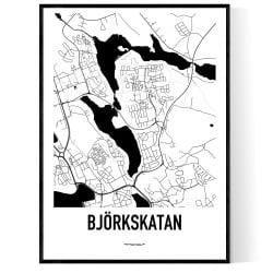 Björkskatan Karta