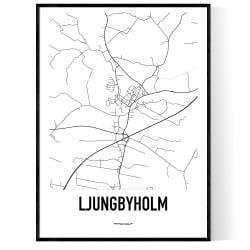 Ljungbyholm Karta