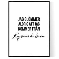 Från Köpmanholmen