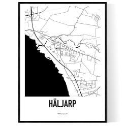 Häljarp Karta