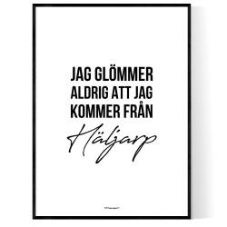 Från Häljarp
