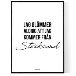 Från Stocksund
