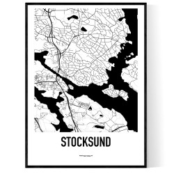 Stocksund Karta