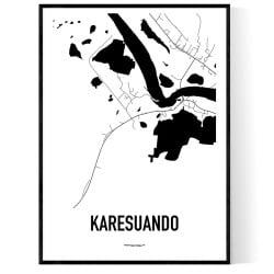 Karesuando Karta