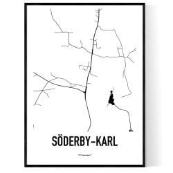 Söderby-Karl Karta