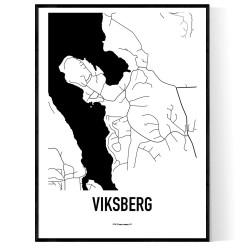 Viksberg Karta