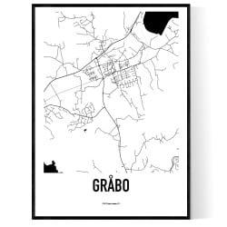 Gråbo Karta