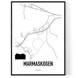 Marmaskogen Karta