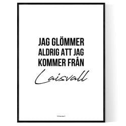 Från Laisvall