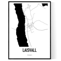 Laisvall Karta