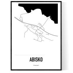Abisko Karta
