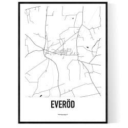 Everöd Karta