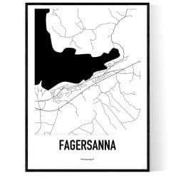 Fagersanna Karta