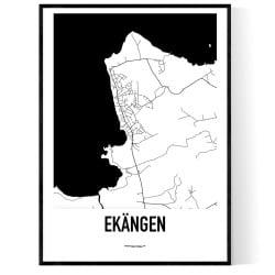 Ekängen Karta