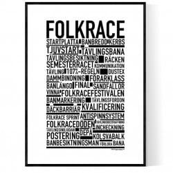 Folkrace Poster