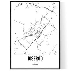 Diseröd Karta