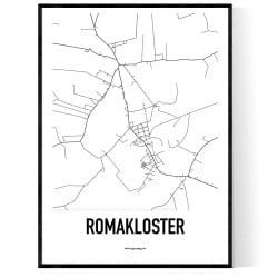 Romakloster Karta