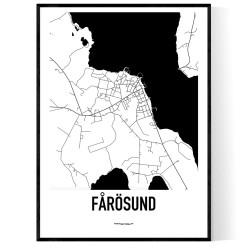 Fårösund Karta