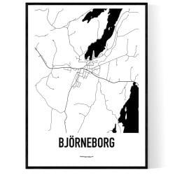 Björneborg Karta