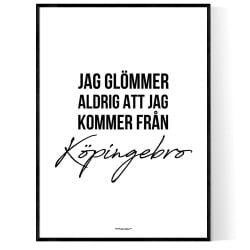 Från Köpingebro