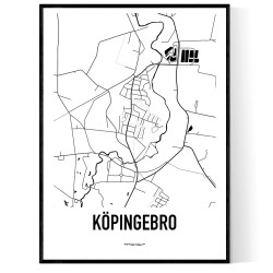 Köpingebro Karta
