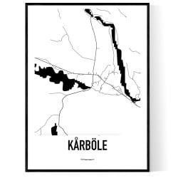 Kårböle Karta