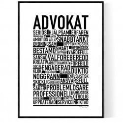 Advokat Poster