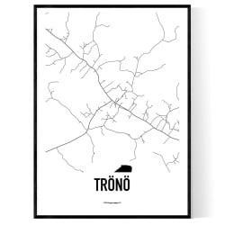 Trönö Karta