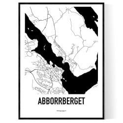 Abborrberget Karta